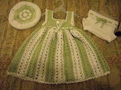 Cute dress! - free crochet pattern
