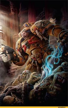 Warhammer 40000,warhammer40000, warhammer40k, warhammer 40k, ваха, сорокотысячник,фэндомы,The Beast Arises,Imperial Fists,Space Marine,Adeptus Astartes,Imperium,Империум,Orks