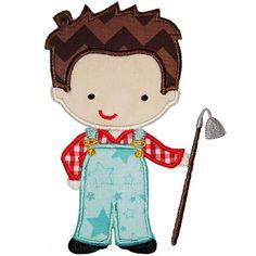 Farmer Boy Applique 4483