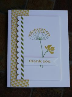 Summer Silhouettes Thank You Card  by Julia Carmichael on July 3, 2012