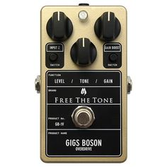 Free The Tone GB-1V Gigs Boson Overdrive Guitar Effect Pedal