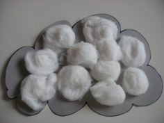 cotton ball clouds- weather