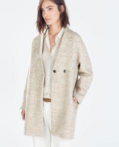 #ABRIGO LANA @zaraofficial 59.95€ #moda #invierno #otoño #tendencia #estilo