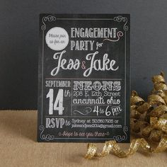 These would be cute invites to a rustic wedding at Rockmill!
