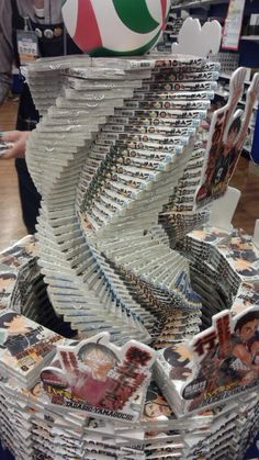 The avant-garde art of book stacking in stores ofJapan | RocketNews24