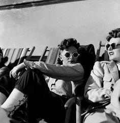 Girls, St. Moritz, Switzerland, 1948 Photo by Werner Bischof