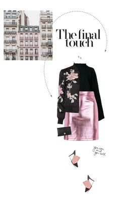 """""""Black & Pink."""" by xabbielou ❤ liked on Polyvore featuring STRATEAS.CARLUCCI, Topshop, 3x1 and GET LOST"""