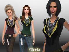 Bereth's Alexia-Scarf-T-Shirt