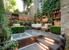 great inner courtyard