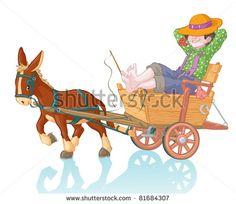 Стоковые иллюстрации и мультфильмы ослы | Shutterstock