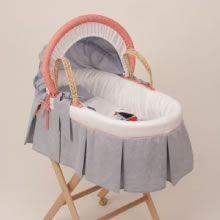 Marine / Bebek Hasır Sepet Tekstili