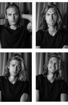 I love the silly face and full smile Human Reference, Photo Reference, Real People, Pretty People, Character Inspiration, Hair Inspiration, Beautiful Men, Beautiful People, The Vampire Chronicles