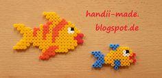 handii made: Fische aus Bügelperlen