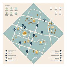 Template Brochure, Design Brochure, Booklet Design, Design Poster, Map Design, Informations Design, Design Presentation, Map Projects, Identity