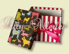 Another image of the lil creatures dog fabric box - do it yourself:-)