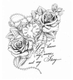 dessins de tatouage 2019 Half sleeve tattoos for men and women ideas 46 - Tattoo Designs Photo Neue Tattoos, Body Art Tattoos, Tattoo Drawings, Tatoos, Tattoos Pics, Henna Tattoos, Tattoos Gallery, Tattoo Images, Rose Drawings