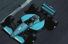 1987 Monaco Leyton House March 871 Ivan Capelli