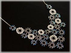 BleRounds necklace beading TUTORIAL by AsszaJewelrymania on Etsy