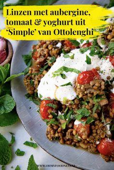 Veggie Recipes, Vegetarian Recipes, Healthy Recipes, Veggie Food, Diner Recipes, Happy Foods, Evening Meals, Vegan Dishes, I Love Food
