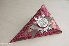 Goodie Stampin Up Tuete Spitztuete Christmas Give Away Gift Idea