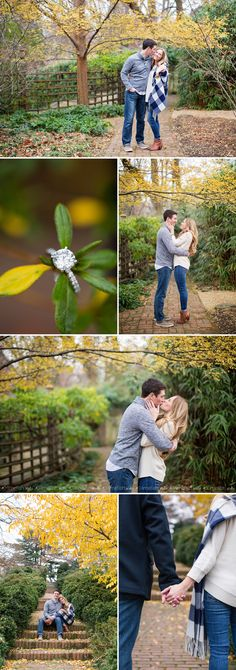 Limefish Studio Photography | 2016 Erik Ashley Georgetown Engagement Session | DC Wedding Photograher | Fall Winter | Dumbarton Oaks