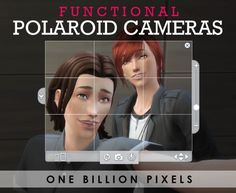 One Billion Pixels: Polaroid cameras • Sims 4 Downloads