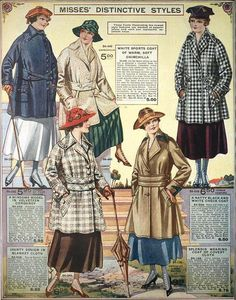 Misses' Distinctive Styles, Eaton's Spring & Summer 1917 Catalog | by The Bees Knees Daily