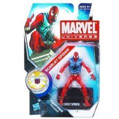 Marvel Universe 3 3/4 Inch Series 14 Action Figure Scarlet Spider Random Packaging
