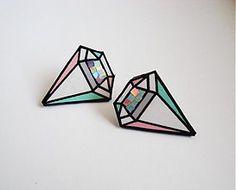 Náušnice - diamanty - 1500520