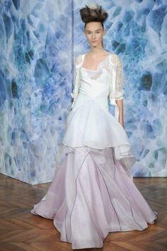 Abito Alexis Mabille - Alexis Mabille, collezione haute couture autunno inverno 2014 2015, abito con gonna strutturata.