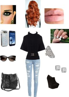 """Untitled #52"" by emilly101fasion ❤ liked on Polyvore"
