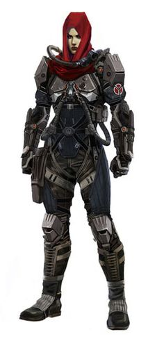 View an image titled 'Echo Concept Art' in our Killzone: Shadow Fall art gallery featuring official character designs, concept art, and promo pictures. Character Concept, Character Art, Concept Art, Character Design, Armor Concept, Cyberpunk, Killzone Shadow Fall, Sci Fi Rpg, Art Du Monde