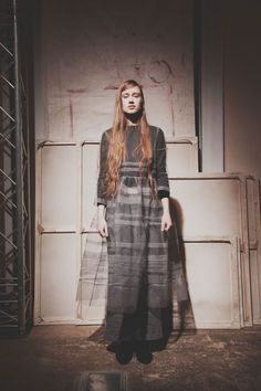 Molly Goddard Autumn-Winter 2015-2016 (Fall 2015) Ready-to-Wear, shown February 2015