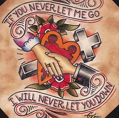 If You Never Let Me Go Well I Will Never Let You Down (The Gaslight Anthem)