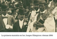 August Spyros Louis, the son of a farmer who made a modest living delivering clean drinking water to the rich residents of Athens, became an overn 1896 Olympics, Greek Olympians, Ancient Olympics, Olympic Marathon, Greece Pictures, Greek Flag, First Marathon, Love Run, Marathon Runners