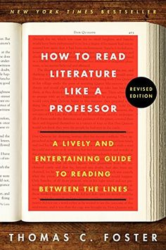How to Read Literature Like a Professor: A Lively and Entertaining Guide to Reading Between the Lines, Revised Edition by Thomas C. Foster http://www.amazon.com/dp/0062301675/ref=cm_sw_r_pi_dp_ntkCwb1M18F8Z