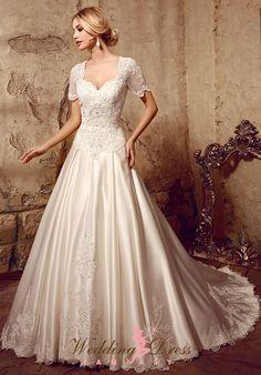 Gorgeous Modest Wedding Dress