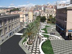 Riqualificazione Piazza Matteotti Catanzaro