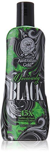Australian Gold New Deviously Black Lotion, 8.5 Fluid Ounce ** You can get more details at http://www.amazon.com/gp/product/B00GOZBVO4/?tag=passion4fashion003e-20?ef=290716055416
