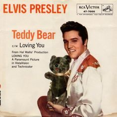 elvis+presley+let+me+be+your+teddy+bear   Elvis Presley (Let Me Be Your) Teddy Bear / Loving You Album Cover