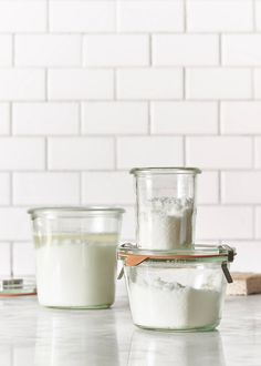 Looking for natural homemade cleaners? This eco green natural homemade mold scouring cream is quick, easy & really works on kitchen and bathroom surfaces.