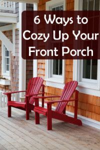 One of my favorite style homes comes complete with a wraparound porch.  They are charming and lovely and I wish I had one.  But.  I do still have a porch and I plan to do the most I can with what I have.  You can bring a little home outside