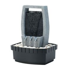 Order your Classic Water Wall Tabletop Fountain:A small wall of water cascades down to the rocks below creating a soothing and stylish addition to your room. Indoor Tabletop Water Fountain, Water Wall Fountain, Wall Of Water, Indoor Water Fountains, Water Walls, Table Fountain, Fountain Ideas, Indoor Waterfall Wall, Microsoft Windows 10