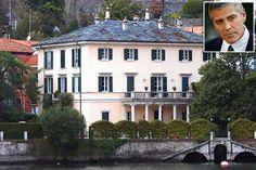 George Clooney's house on Lake Como
