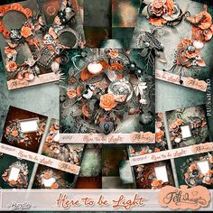 Here to be Light - Bundle (PU/S4H) by Feli Designs #the Studio