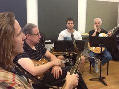 Summer guitar workshop 2014 with Vic Juris, Marc Mommaas.