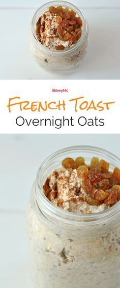 French Toast Overnight Oats :) So simple and so effortless!