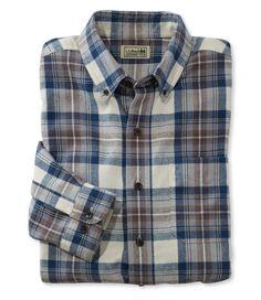 """LL Bean Scotch Plaid Flannel Shirt - """"Indigo Tartan"""" Mens Flannel Shirt, Plaid Flannel, Denim Shirt, Twill Shirt, Jeans, Casual Button Down Shirts, Casual Shirts, Scottish Plaid, Scottish Tartans"""