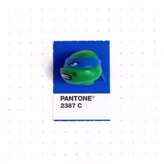 Pantone 2387 color match. Leonardo's the leader in blue, Does anything it takes to get his ninjas through. My son and I are big fans of TMNT by Nickelodeon. It is so well done. The animation, the writing, the character developments. Just awesome time watching this series with my son every week.