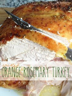 Orange Rosemary Roasted Turkey